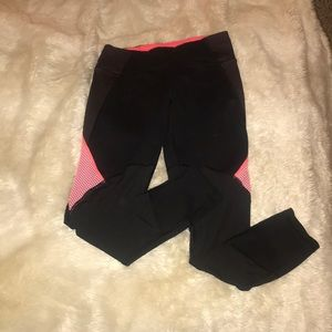 VSX Pink and Black Mesh Knockout Tight